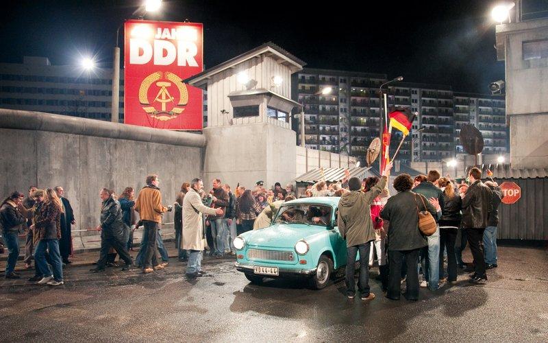 Filmszene Liebe Mauer