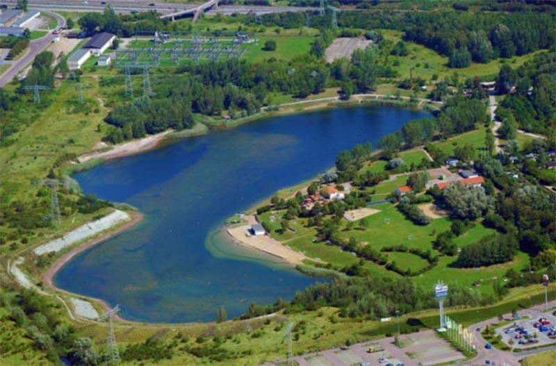 Volksbad Angersdorfer Teiche in Halle