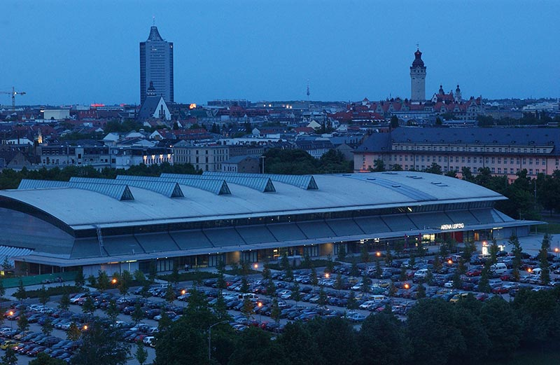 Arena Leipzig in Leipzig