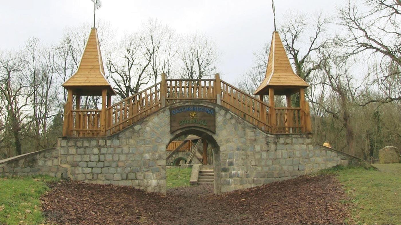 Baschkirischer Spielplatz in Halle