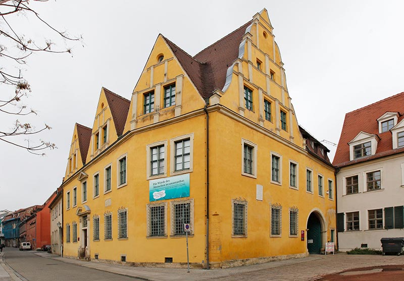 Stadtmuseum Halle Christian-Wolff-Haus in Halle