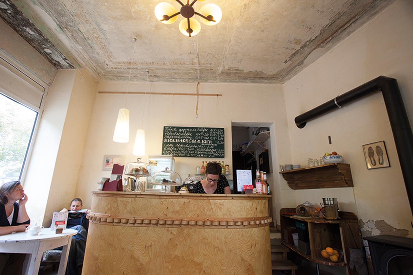 Café & Kunstraum Rosenburg in Halle
