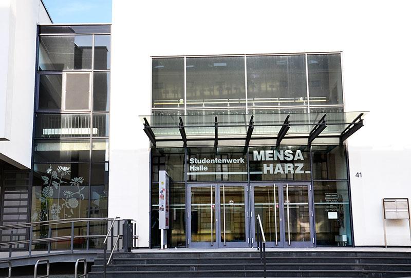 Harz Mensa in Halle