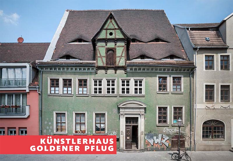 Künstlerhaus Goldener Pflug in Halle