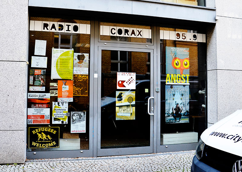 Radio Corax in Halle
