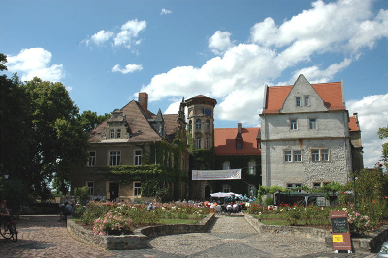 Schloss Hohenerxleben in Staßfurt