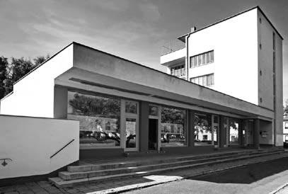 Konsum,Bauhaussiedlung Dessau-Törten in Dessau-Roßlau