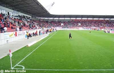 Erdgas Sportpark in Halle