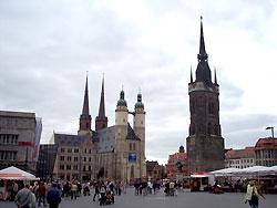 Tourist-Information im Marktschlößchen in Halle