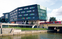 Mitteldeutsches Multimediazentrum MMZ in Halle
