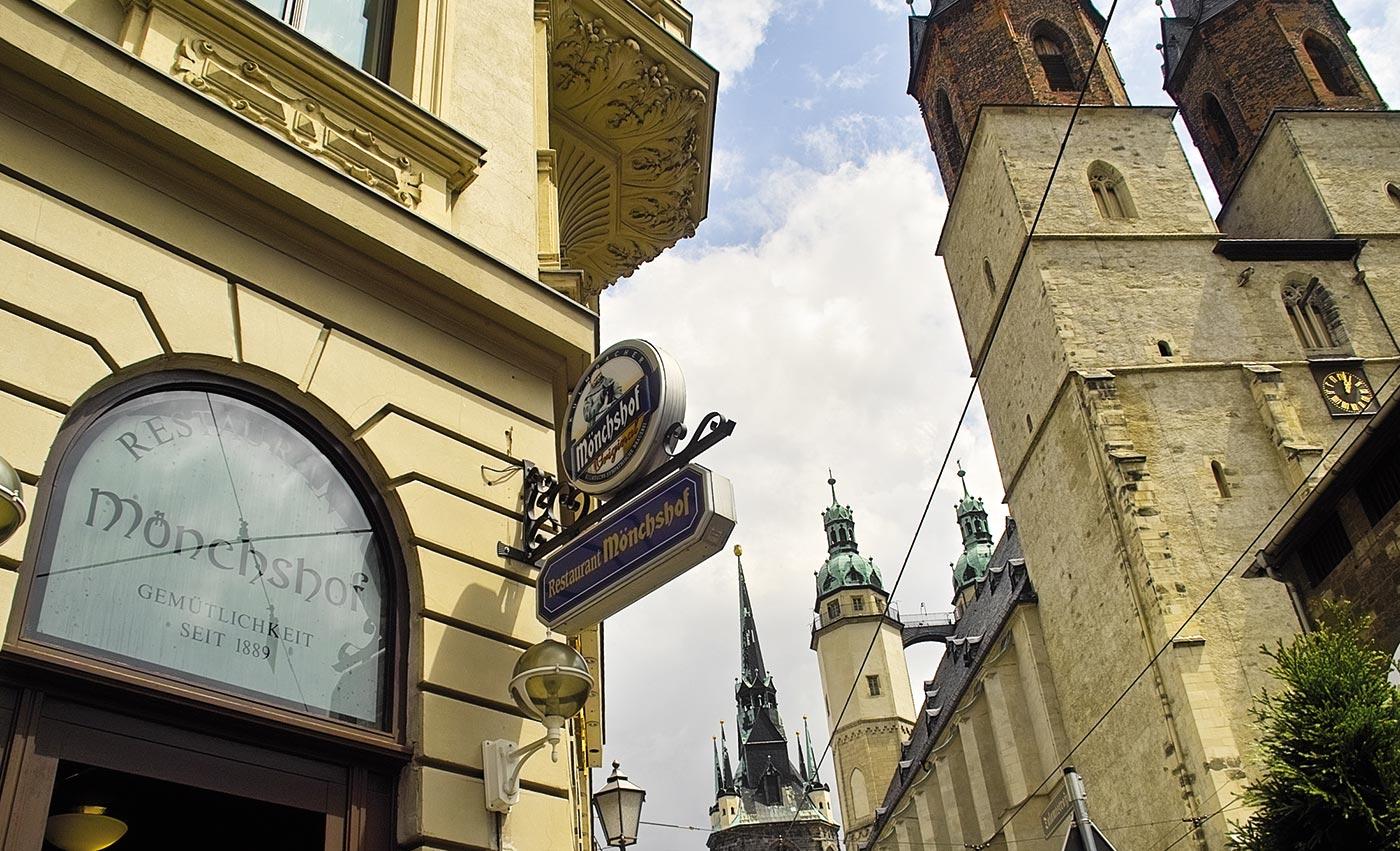 Mönchshof in Halle