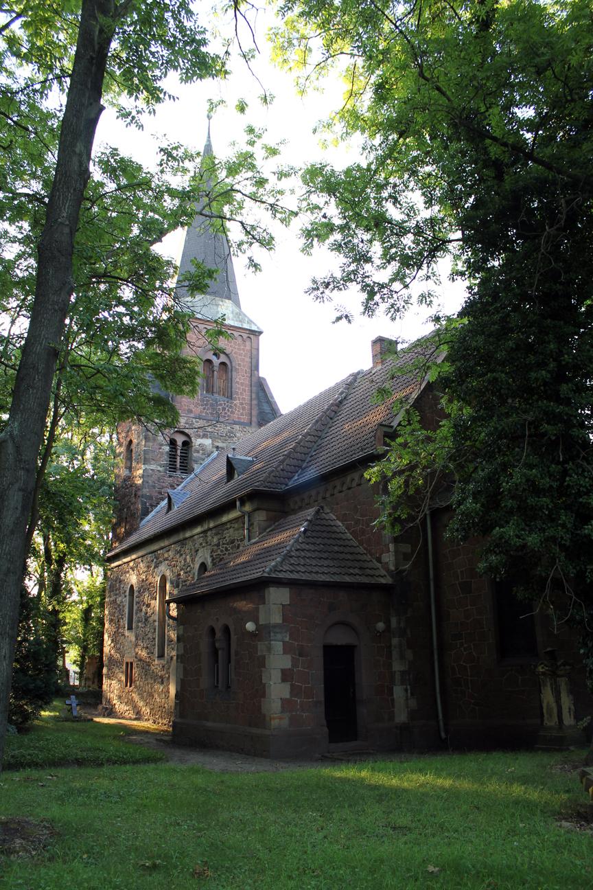 Mötzlicher Kirche St. Pankratius in Halle