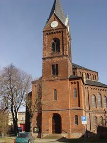 Nietlebener Kirche in Halle