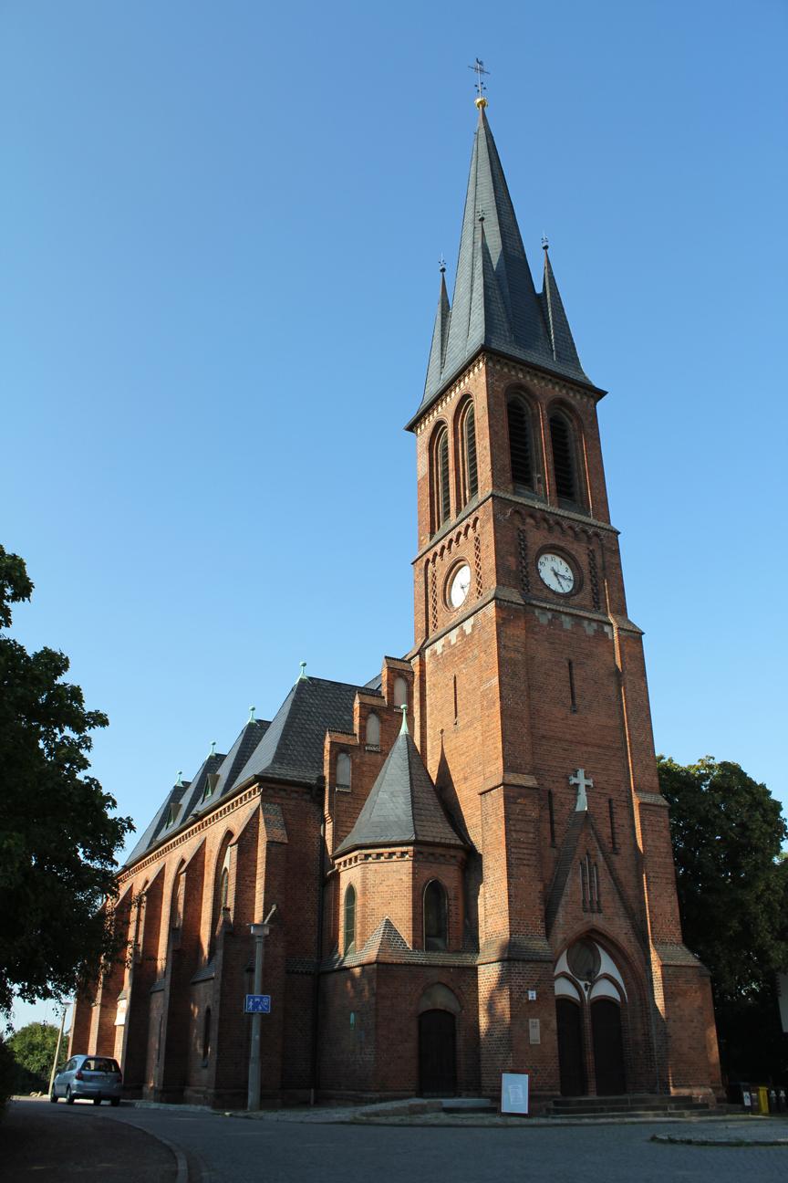 Petruskirche Kröllwitz in Halle