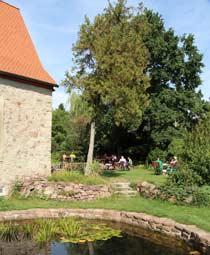 Picknick am Wegesrand in Wettin