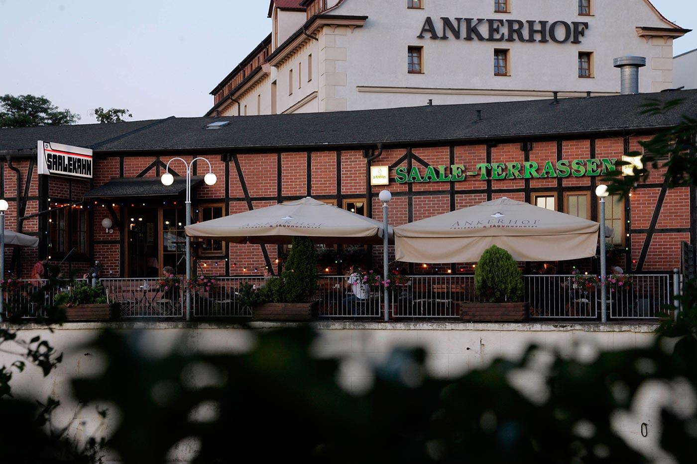 Saalekahn (Hotel Ankerhof) in Halle